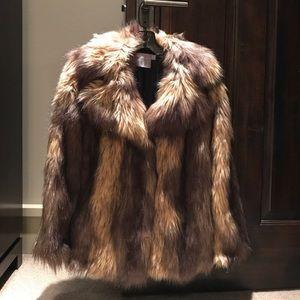 BNWT ASOS fur jacket